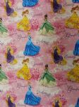 NEW! DISNEY PRINCESSES - Fabric 100% Cotton - Price Per Metre